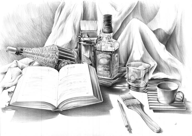 nauka rysunku ołówek
