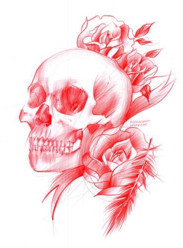 Tatuaż czaszka